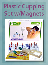 Kangzhu Plastic Cupping Set with Magnets
